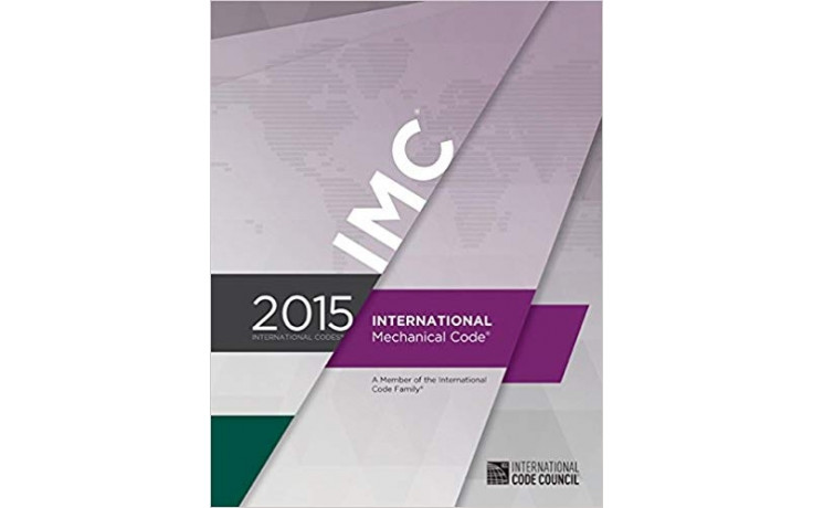 2015 International Mechanical Code Book IMC