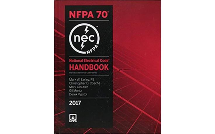 2017 National Electrical Code NEC Handbook (Hard Cover)