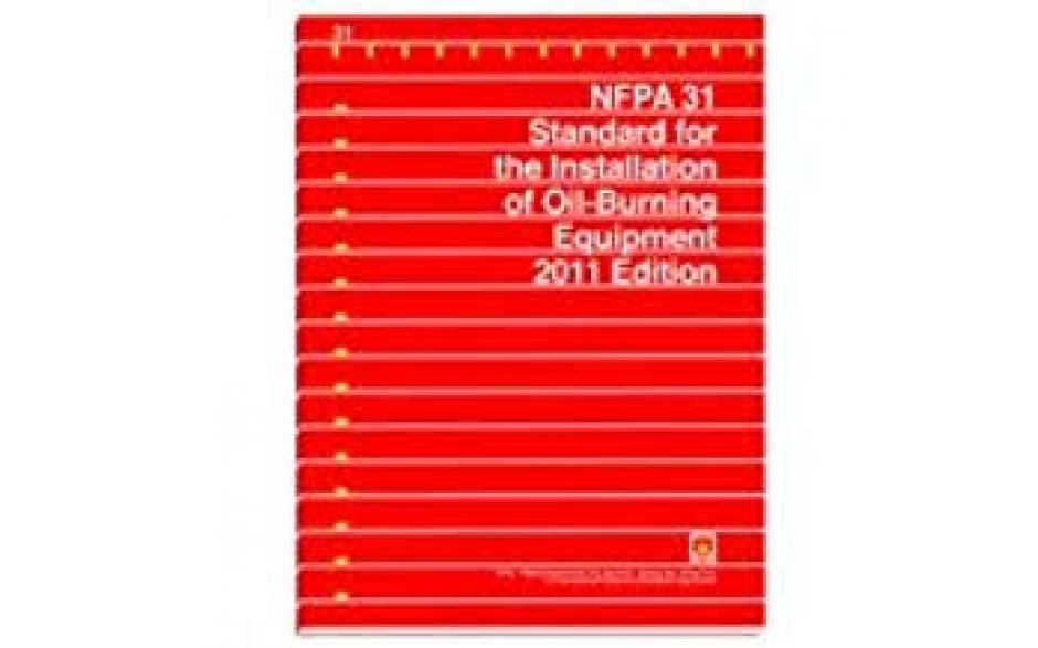 NFPA 31 Installation of Oil Burning Equipment 2011