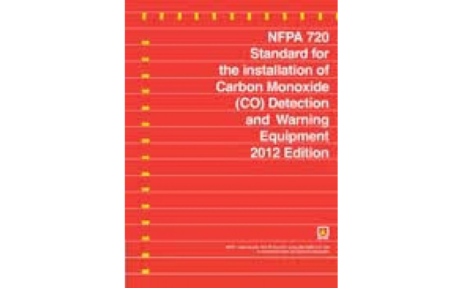 NFPA 720-2012 Standard for the Installation of Carbon Monoxide Detection and Warning Equipment