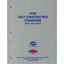 HVAC Duct Construction Standards-Metal & Flexible, 3rd Edition