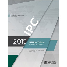 International Plumbing Code book 2015