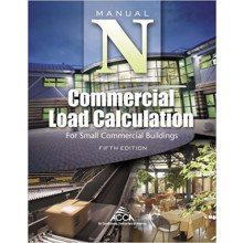 Manual N, Commercial Load Calculation for Small Commercial Buildings, Manual N® 5th Edition Edition