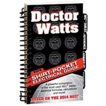 Dr. Watts Shirt Pocket Electrical Guide