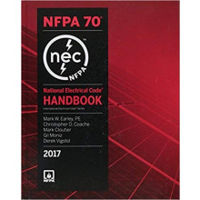 2017 National Electrical Code NEC Handbook (Hard Cover)
